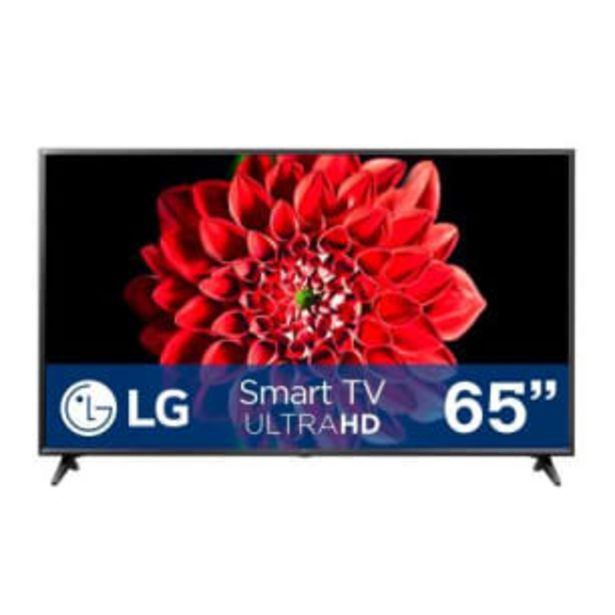 Oferta de Pantalla LG 65 Pulgadas Smart TV 4K UHD AI ThinQ por $16196.65