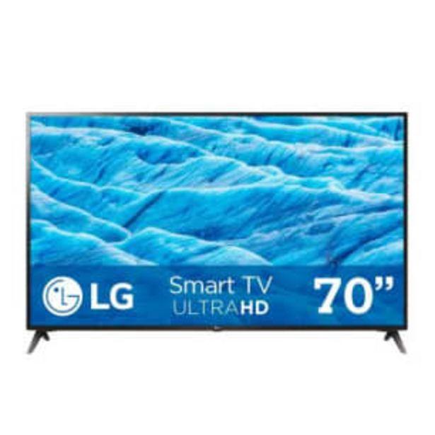 Oferta de Pantalla LG 70 Pulgadas Smart TV 4K AI ThinQ por $18583.65