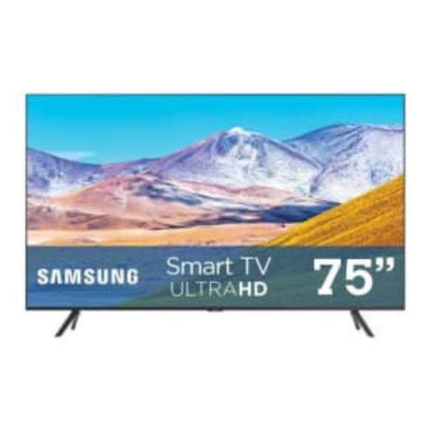Oferta de Pantalla Samsung 75 Pulgadas LED 4K Smart TV Serie TU8200 por $22164.15