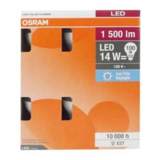 Oferta de Focos LED Osram Luz Fría 14 W 6 pzas por $244.5