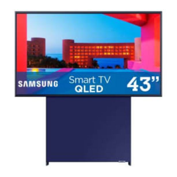 Oferta de Pantalla Samsung The Sero 43 Pulgadas  Smart TV QLED por $28131.65