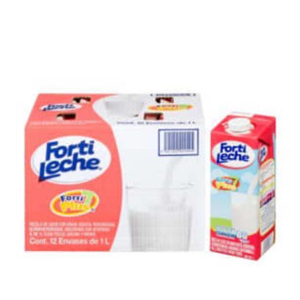 Oferta de Fórmula Láctea Fortileche 12 pzas de 1 l por $172.89