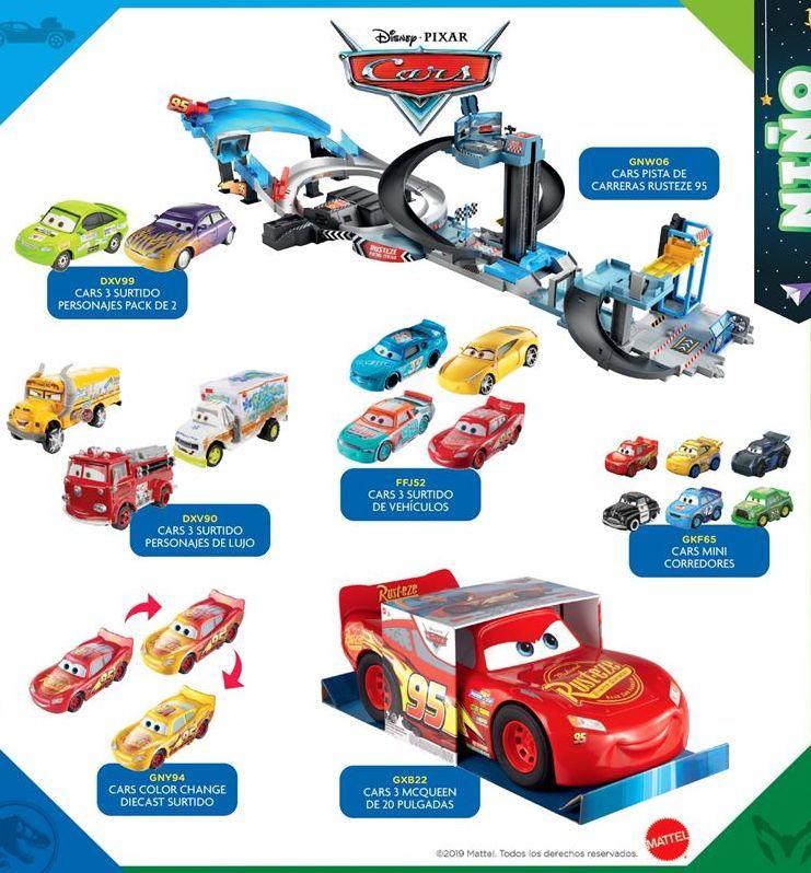 Oferta de Pistas y circuitos Cars por