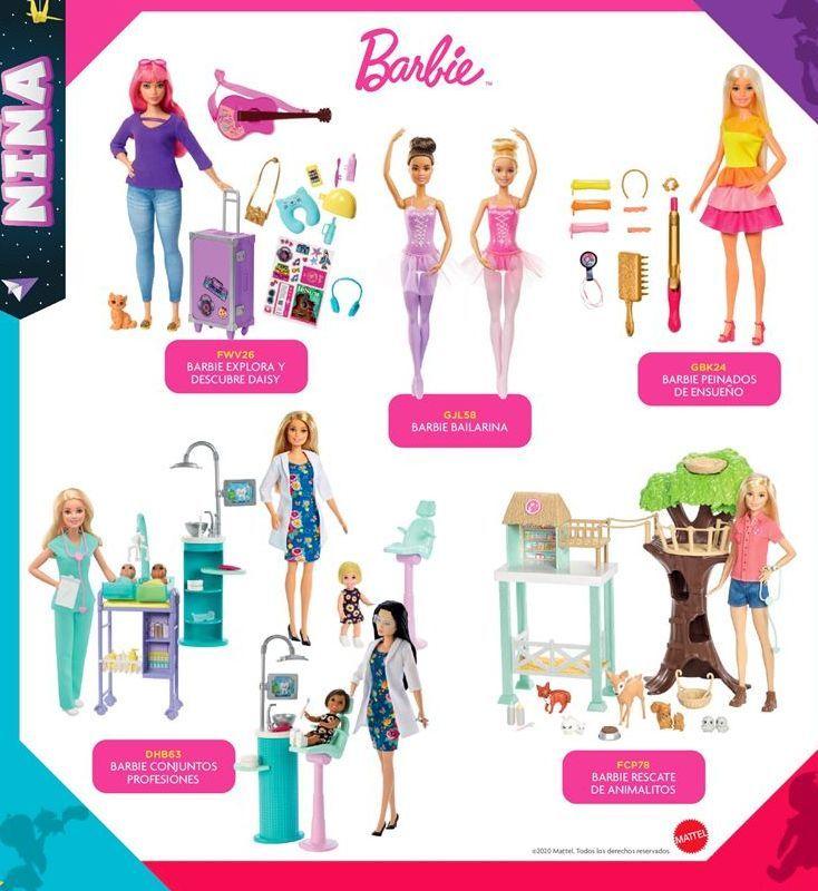 Oferta de Muñecas Barbie por