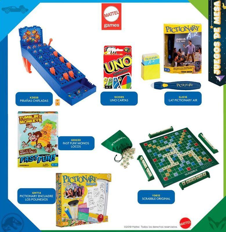 Oferta de Mattel Games por