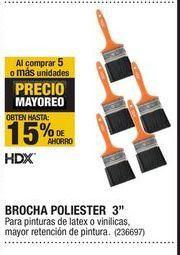 Oferta de Brocha HDX por