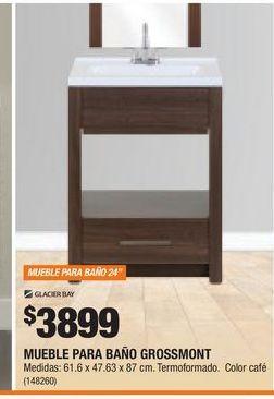 Oferta de Muebles para baño Glacier Bay por $3899