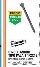 Oferta de Cinceles Milwaukee por