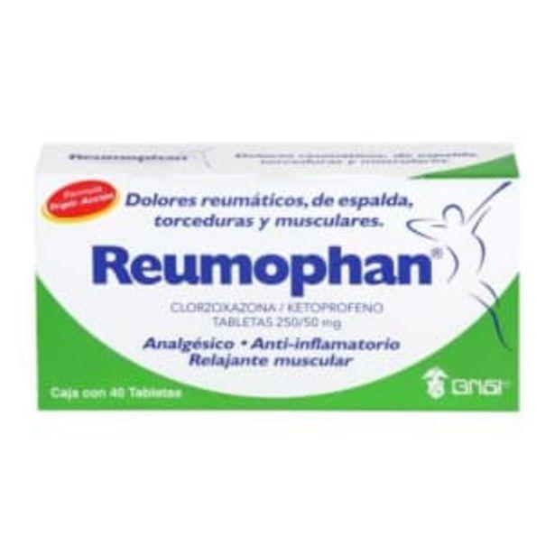 Oferta de Analgésico Reumophan 40 Tabletas por $152.43