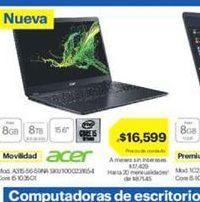 Oferta de Notebook Acer por $16599