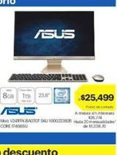 Oferta de Computadora de escritorio Asus por $25499