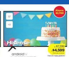 Oferta de HISENSE por $4599