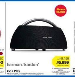 Oferta de Harman/kardon go+play por $5699