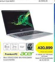 Oferta de Laptop Acer por $20899