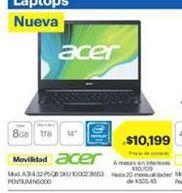 Oferta de Laptop Acer por $10199