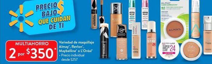 Oferta de Variedad de maquillaje por $350