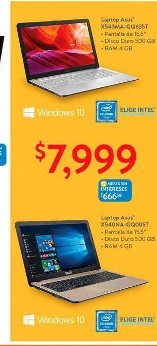 Oferta de Laptop Asus por $7999