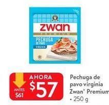 Oferta de Pechuga de pavo  virginia Zwan premium por $57