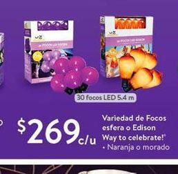 Oferta de Variedad de focos esfera o edison way to celebrate! por $269