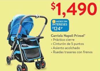 Oferta de Carriola napoli prinsel por $1490