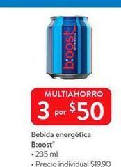 Oferta de Bebida energética Boost por $50