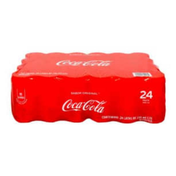 Oferta de Refresco Coca Cola Mini 24 Piezas de 235 ml por $203.57