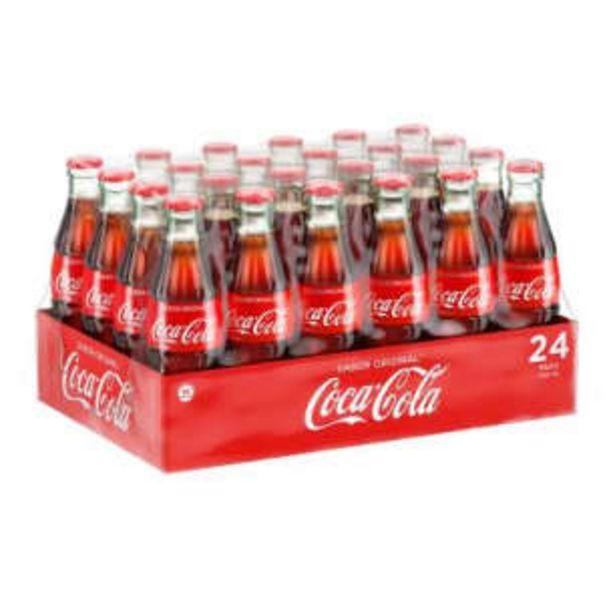 Oferta de Refresco Coca Cola Vidrio 24 pzas de 235 ml por $242.44