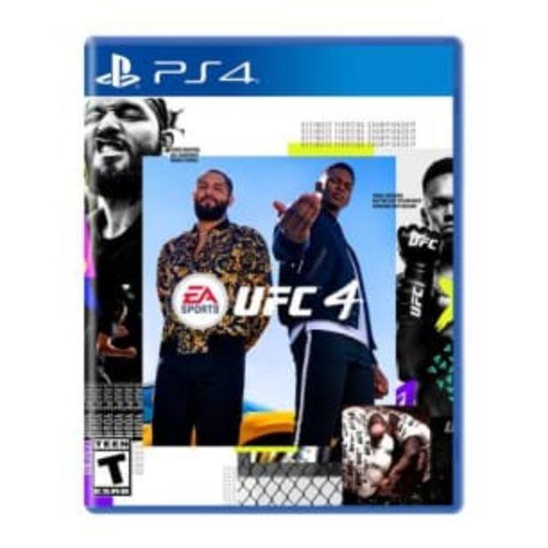 Oferta de Videojuego UFC 4 PS4 por $1431.18