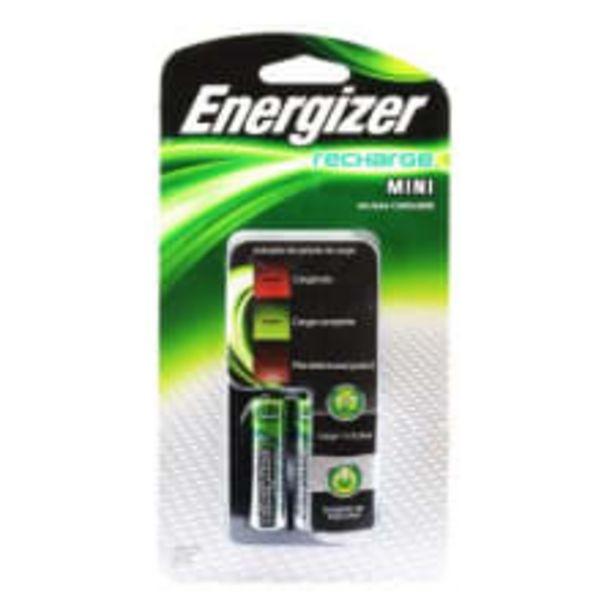Oferta de Cargador Energizer Recharge mini para 2 Baterías AA por $191