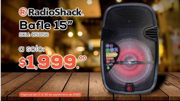 """Oferta de Bafle 15"""" Radioshack por $1999"""