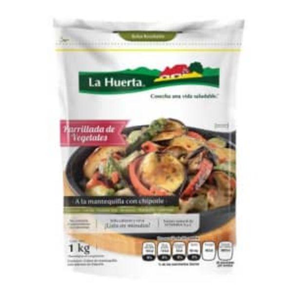 Oferta de Parrillada de Vegetales La Huerta a la Mantequilla con Chipotle 1 kg por $142.2