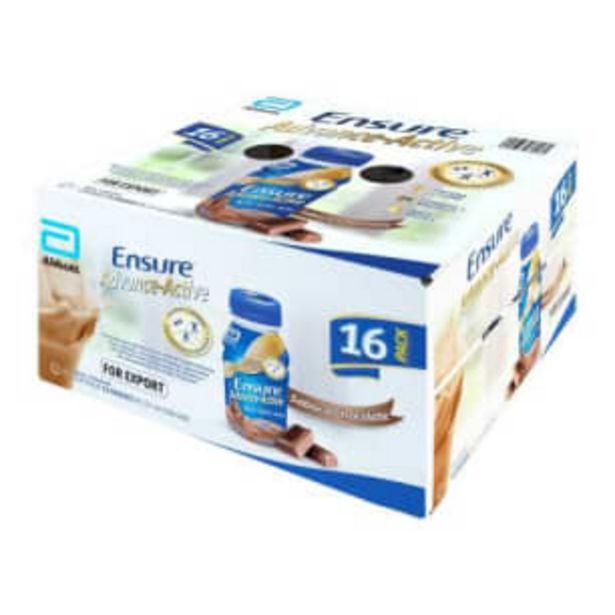 Oferta de Ensure Advance Active Abbott Sabor Chocolate 16 pzas de 237 ml por $571.86