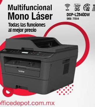 Oferta de Multifunción Láser Brother por