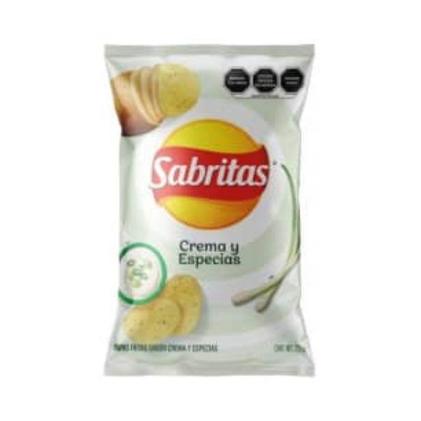 Oferta de Papas Sabritas Crema y Especias 255 g por $42.95