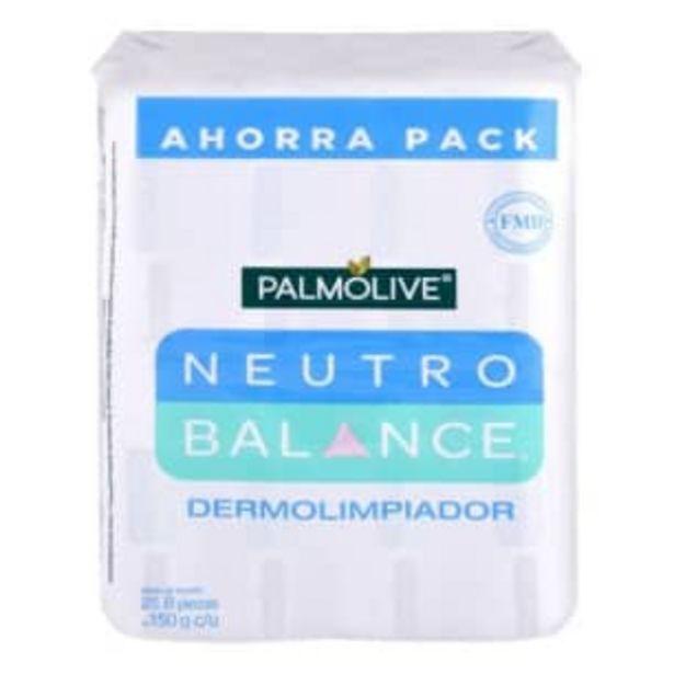 Oferta de Jabón de Tocador Palmolive Neutro Balance 8 pzas de 150 g c/u por $92.07