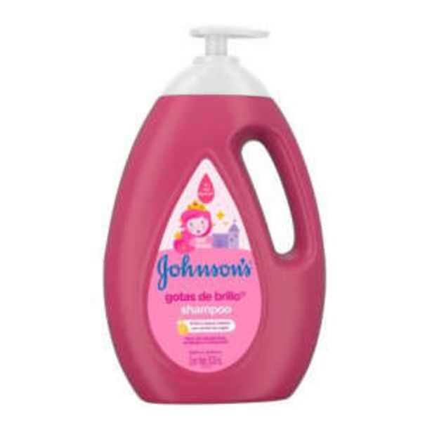 Oferta de Shampoo Johnson's Gotas de Brillo 1 l por $137.58