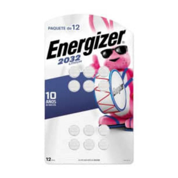 Oferta de Pila Energizer Especializada Tipo 2032 con 12 pzas por $209.71