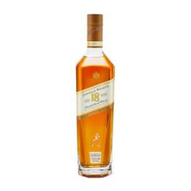 Oferta de Whisky Johnnie Walker 18 Años 750 ml por $1768.73