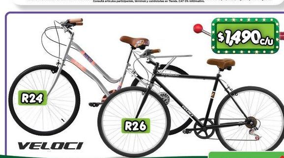 Oferta de Bicicleta Veloci por $1490