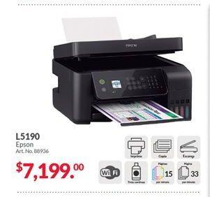 Oferta de Impresora multifunción Epson por $7199