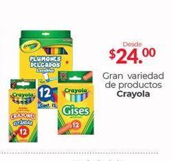 Oferta de Lápices de colores Crayola por $24