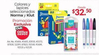 Oferta de Lápices de colores Norma por $32.5