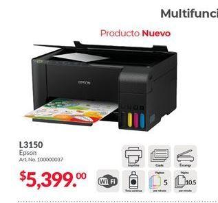 Oferta de Impresora L3150 Epson por $5399