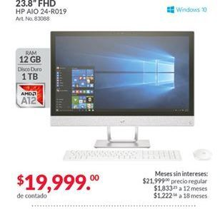 Oferta de All In ONE HP por $19999