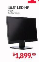 Oferta de Monitor led 18,5'' HP por $1899
