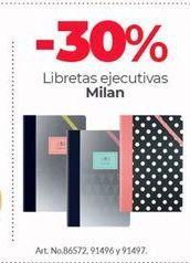 Oferta de Libretas Ejecutivas Milan por