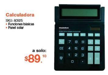 Oferta de Calculadora Radioshack por $89.1