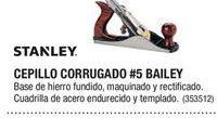 Oferta de Cepillo manual Stanley por