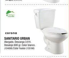 Oferta de Sanitario Urban Corona por
