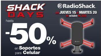 Oferta de Soporte de smartphone para coche Radioshack por